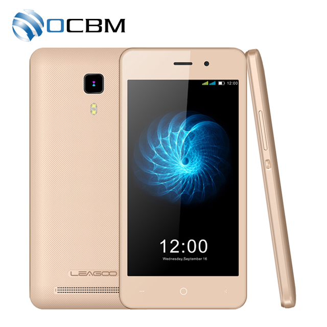 "In Stock Original Leagoo Z3C 3G WCDMA Mobile Phone Android 6.0 SC7731c Cortex A7 Quad Core 4.5""HD 512MB RAM 8GB ROM 5.0MP GPS"