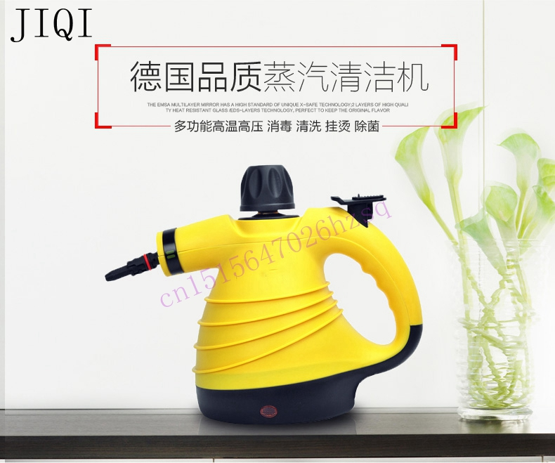 ФОТО 1000W 300mL Steam cleaner Handheld cleaning machine Disinfector Sterilization machine Anti dry burning 6 steam outlets efficient
