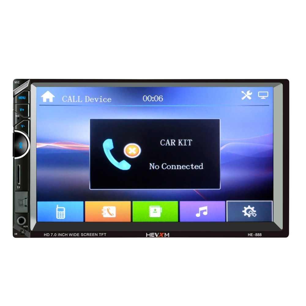 2DIN Xe Đài Phát Thanh Android Đa Phương Tiện Autoradio 2 Din 7 ''Màn Hình Cảm Ứng Bluetooth FM Wifi Tự Động Âm Thanh Stereo