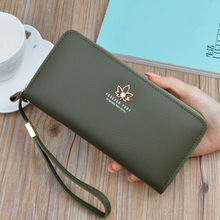 New Women's Luxury Wallet With Large Zipper Capacity