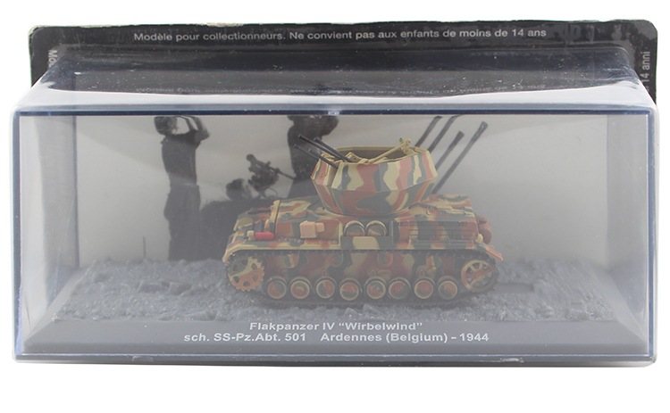 IXO 1/72 the German army Flakpanzer IV Wirbelwind tank model Alloy collection model Holiday gift 1 30 wwii german mechanized forces captured the urban combat scenarios alloy model suits the scene fm