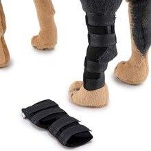 Новая ножка для собак, защита для собак, хирургическая травма, фиксированные наколенники для собак, покрытие для ног, оборудование для защиты домашних животных, 2 шт