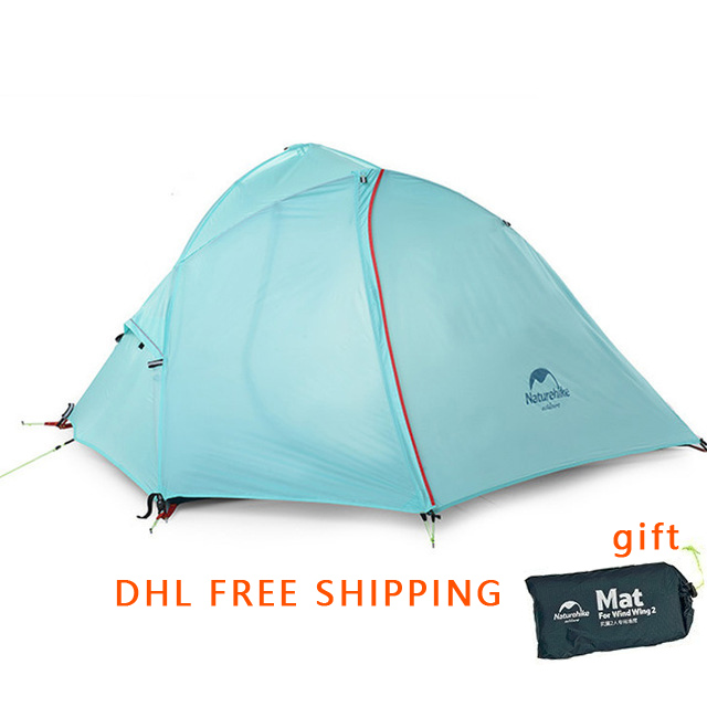 DHL free shipping ultra light NatureHike camping hiking 1 person tent-in Tents from Sports & Entertainment    1