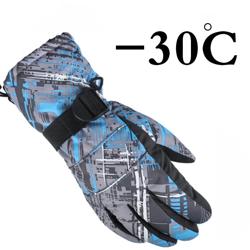 Free Shipping Professional head all weather waterproof thermal font b skiing b font font b gloves