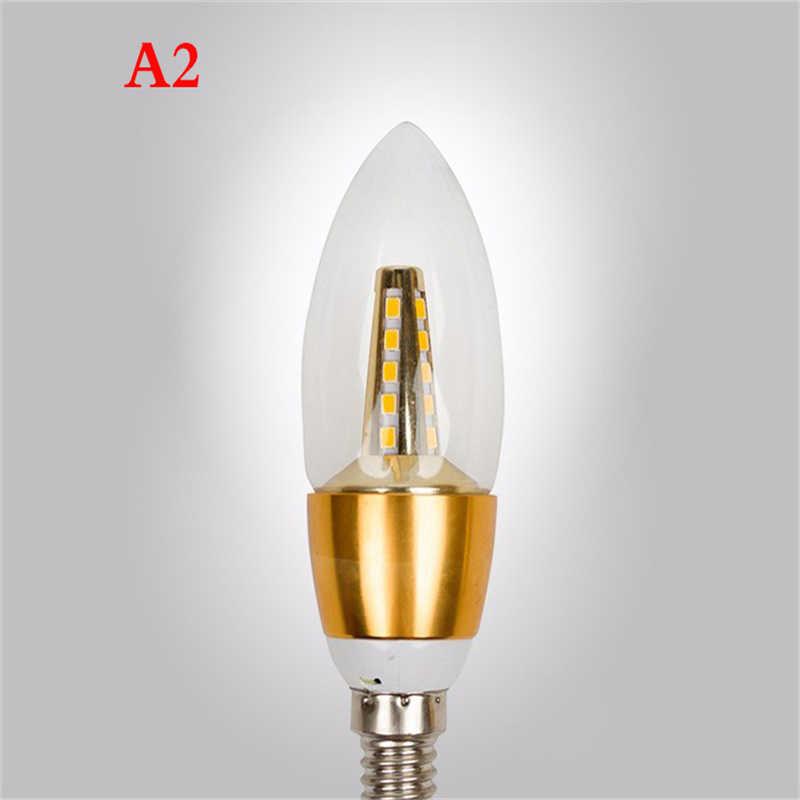 1/10X E14 ampoules LED en forme de bougie 220V Ampoule économiseuse d'énergie lampe LED Bombilla Decorativas Ampoule lampe à LED 7W 9W LED lumières pour la maison