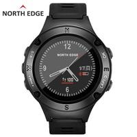Северная режущая кромка для мужчин's gps Цифровые спортивные часы водостойкий Военная Униформа сердечного ритма альтиметр барометр компасы