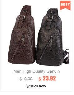 High Quality genuine leather