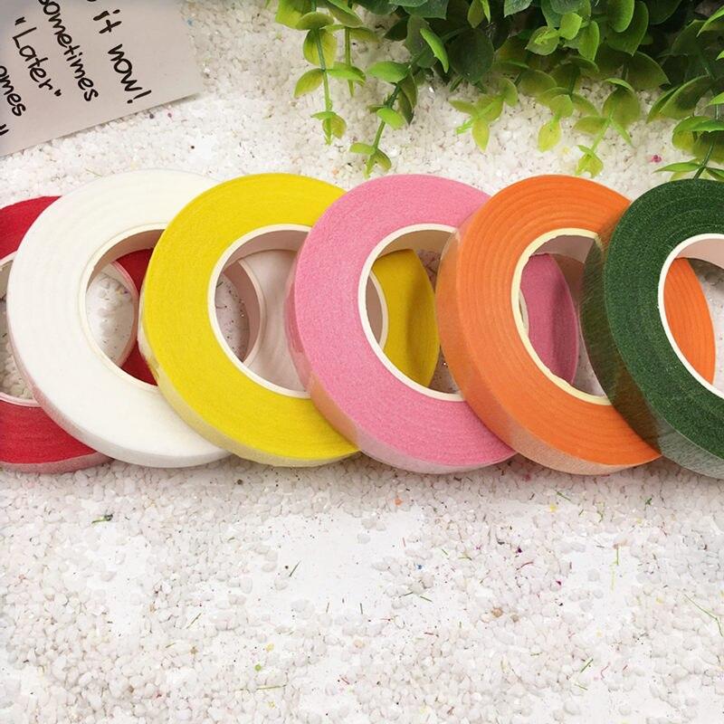 levné 25Meter papír Garland páska Umělá květina Pevné doplňky pro svatební dekorace DIY věnec Flores páska