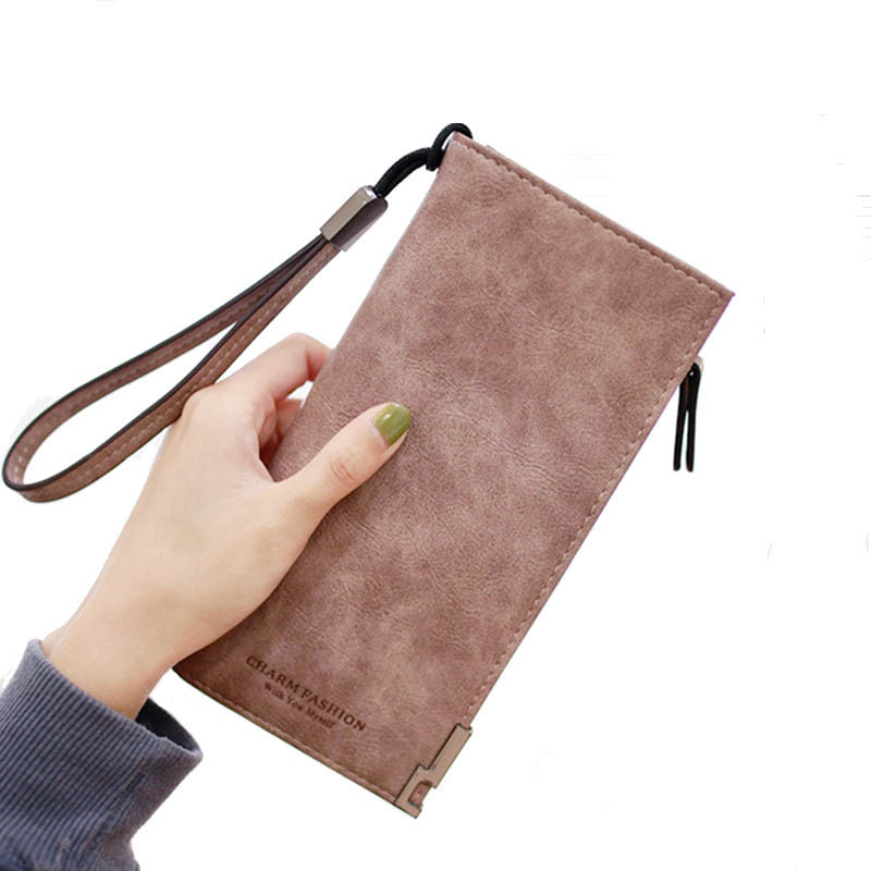 Purse Women Wallets Women's Zipper Coin Clutch Famous Brand Designer Long Wallet Women's Purses Female Card Holder Wallets Lady