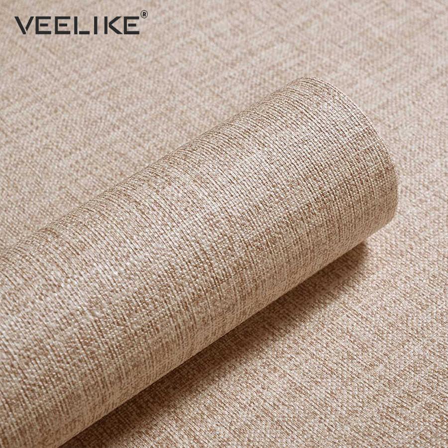 פשתן PVC ויניל קשר נייר למטבח ארונות בית תפאורה עצמי דבק טפט לחדר שינה סלון נייר
