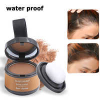 Sale Magical Fluffy Thin Hair Powder Pang Pang Hair Line Shadow Makeup Hair Concealer Root Cover Up Unisex Instant Gray Coverage