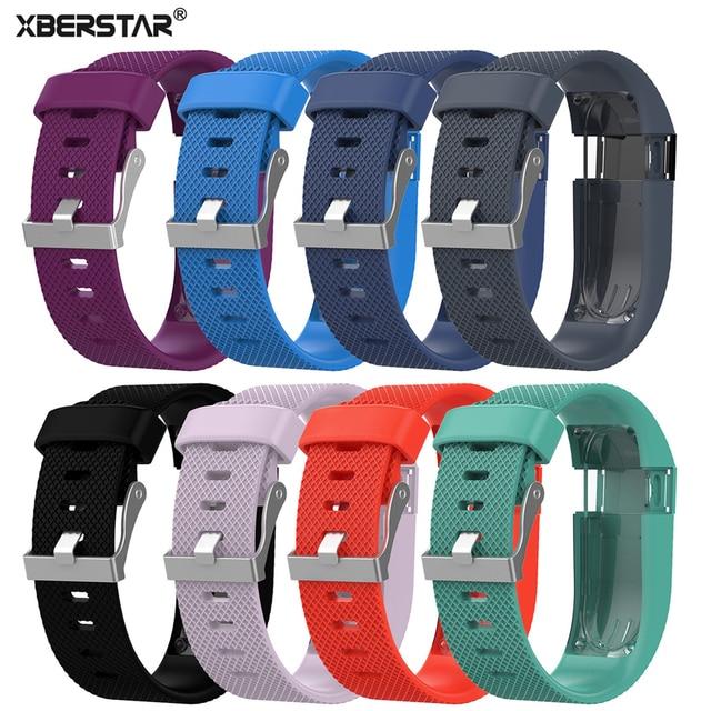 54ae96162feb € 2.44 24% de DESCUENTO|XBERSTAR correa de reloj de pulsera para Fitbit  Charge HR correa de reloj inalámbrico rastreador de actividad hebilla de ...