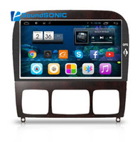9 дюймовый сенсорный 1024*600 Экран Android 4.4 автомобиль DVD GPS специально для Mercedes W220 W215 S550 S600 s350 S400 S280 S320 S65