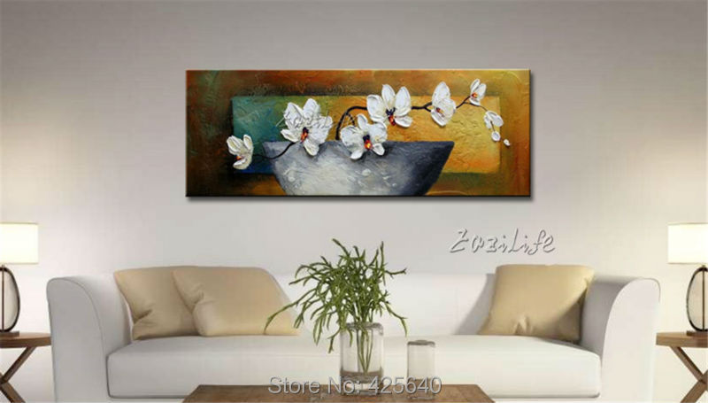 Золотые художественные картины акриловые абстрактные цветы текстура quadro caudro decoracion настенные художественные картины для гостиной домашний... - 2