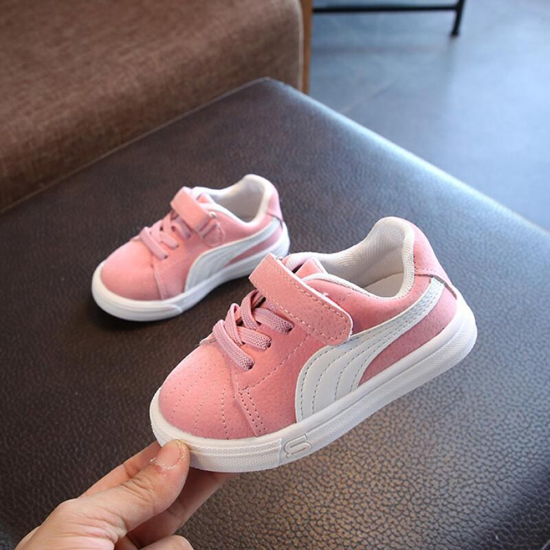 SKHEK Children Shoes For Girls Boys Kids Mesh Sneakers Flat Baby Breathable Sport Shoes Girls Fashion Sneakers Gray Pink Black eur 26 39 new children sneakers for boys sport shoes kids for girls fashion breathable mesh student casual shoe children shoes