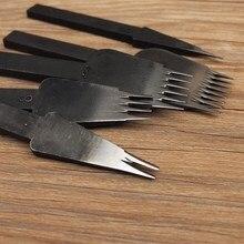 DIY Johnleather Craft Tool Стали Металл Французский Шнуровкой Утюги Долото Удар 3.38 мм