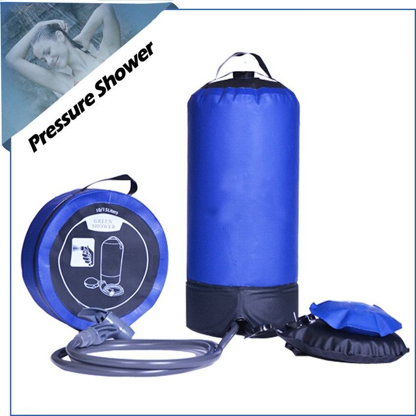 Camp pressure shower outdoor PVC tarpaulin