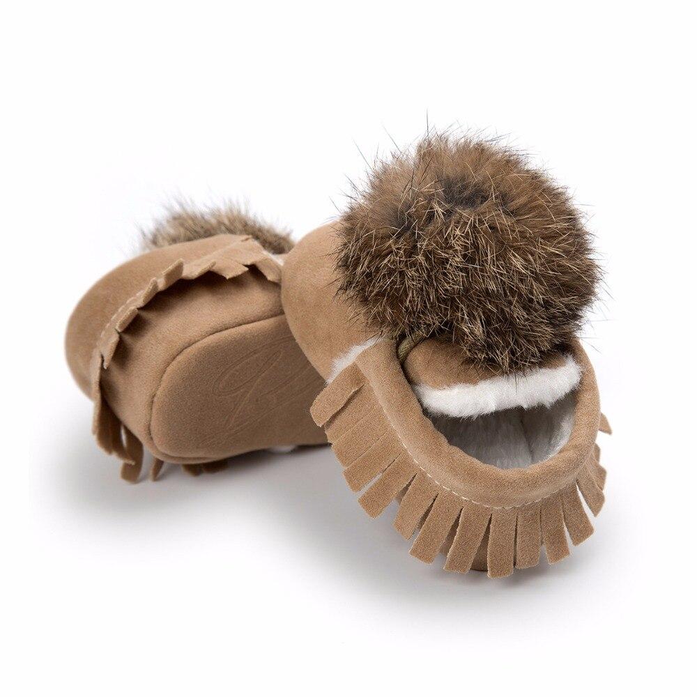 2017 Winter Lovely Cute Baby Baby Girl Warm Houden Schoenen Peuter - Baby schoentjes - Foto 6