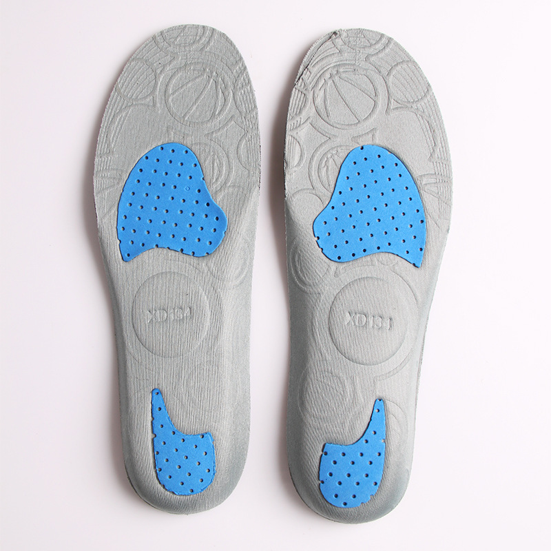 High Quality PU Sports Insoles for Shoes Freedom Crop Your Size Flexible Breathable Foam Memory Unisex