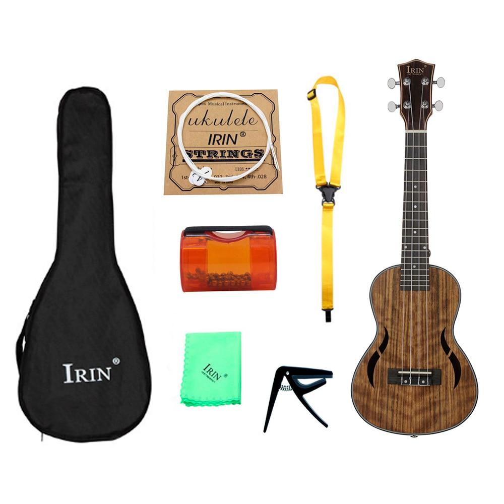 IRIN UK2660 26 pouces noyer quatre cordes ukulélé doux son haute qualité Portable Durable unisexe Instrument de musique ukulélé