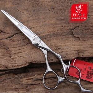 Image 1 - Fenice tesoura de cabelo profissional alta qualidade 6.0 Polegada tesoura corte cabelo tesouras cabeleireiro japão vg10 aço inoxidável