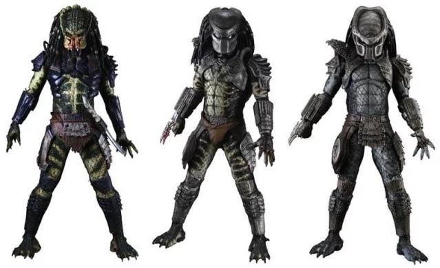 NECA Predators Series 6 - Lost Warrio Scout Predator Action Figure neca predator 2 lost scout warrior predator pvc action figure collectible model toy 7 18cm