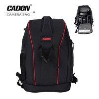 Caden Nylon Waterproof Shockproof Camera DSLR Outdoor Travel Backpack Bag Case Large Capacity For Sony For