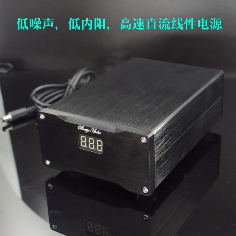 Breeze Audio linear power supply audio Ultra low noise linear power supply hifi 24 v/5V/7.5V/9V/12V/16V