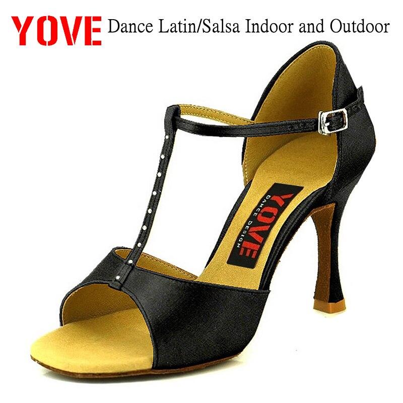 YOVE Style LD-3114 Dansschoenen Bachata / Salsa Dansschoenen voor binnen en buiten voor dames