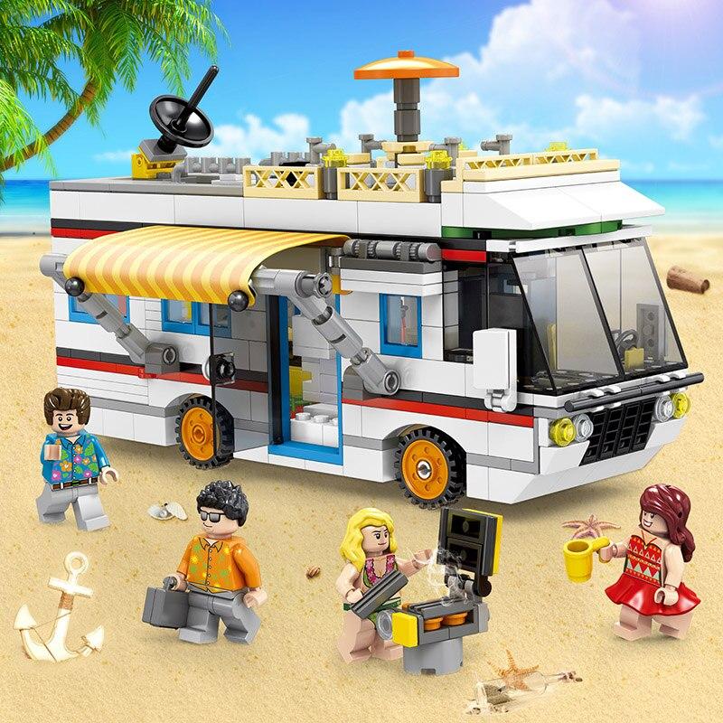 3-In-1-City-Mini-Street-View-Scene-662Pcs-SD6970-Building-Block-Bricks-Vacation-camping-car (1)