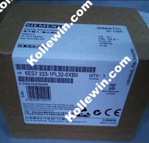 Original 6ES7223-1PL32-0XB0 Module, SIMATIC S7-1200 DIGITAL Input/Output SM 1223, 16DI / 16DO, 16DI DC 24 V, 223-1PL32-0XB0 6es7222 1hf32 0xb0 6es7 222 1hf32 0xb0 simatic s7 1200 digital output sm 1222 8 do relay 2a have in stock