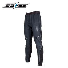 SAHOO thermal fleece warm mtb bicycle winter cycling pants long bike pants men clothing front windproof back breathable