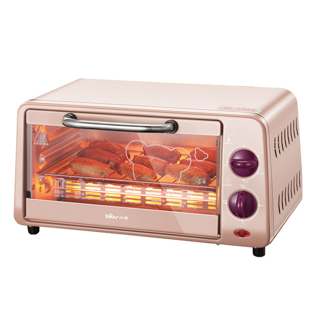 2018 DKX-A09A1 Electric Oven Small Home Small Oven Baking Machine Cake Temperature Control Free Tempered Glass