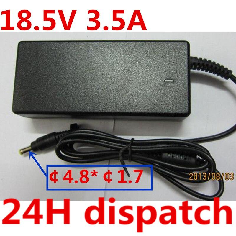 Qualidade 18.5 v 3.5A HSW 65 w Universal Adaptador AC Carregador de Bateria para HP COMPAQ 610 615 Laptop Frete Grátis