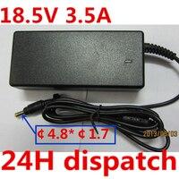 HSW jakości 18.5 V 3.5A 65 w Uniwersalny AC Adapter Ładowarka do HP COMPAQ 610 615 Laptop Darmowa Wysyłka