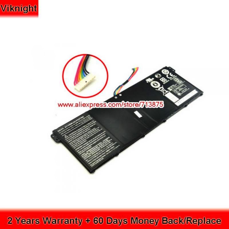 AC14B8K Battery For Acer Aspire E3-111 ES1-511 V3-111 CB3-111 CB5-311 E5-771G V3-371 ES1-711 15.2V 48Wh new original 15 2v 46wh 48wh laptop battery for acer aspire v3 v3 371 v3 371 30fa ac14b8k