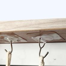 Настенный подвес бесшовный водонепроницаемый клей крюк Ванная комната Кухня