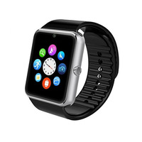 ZAOYIMALL Bluetooth Smart Watch GT08 Smartwatch Alarm Clock With SIM TF Card Camera For Android Phone