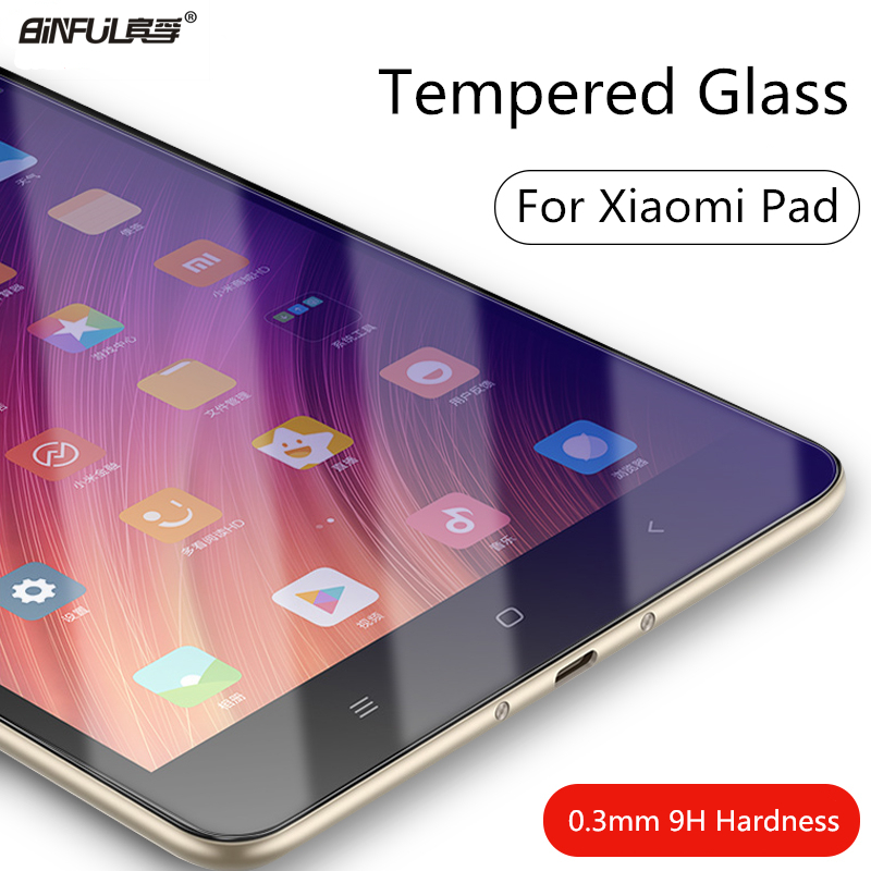 0.3mm 9H Screen Protector For Xiaomi Pad 7.9 1 2 3 Tablet Tempered Glass For Mipad Mi Pad 4 8.0 Plus 10.0 Protective Film