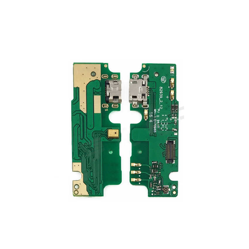 New For Lenovo K6 Note K6Note K53a48 USB Dock Connector Charging Port Flex Cable With Microphone Replacement