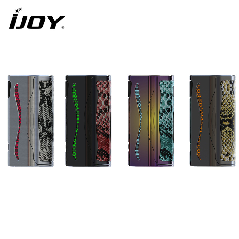 Original IJOY Genie PD270 Box Mod NI/TI/SS 234W with Dual 20700 Battery Support Firmware Upgradeable Electronic Cigarette Mod original ijoy captain pd270 box mod e cigarette vape 234w ni ti ss tc vapor power by dual 20700 battery new colors