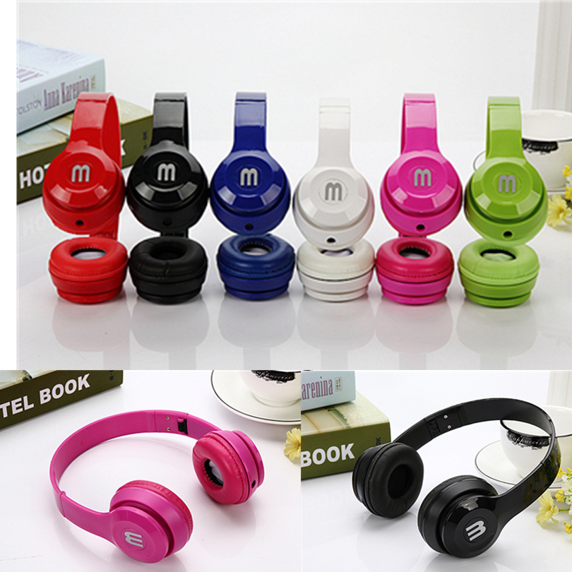 6 colors fashion Foldable headphones font b Gaming b font Headset Earphone with For PC font