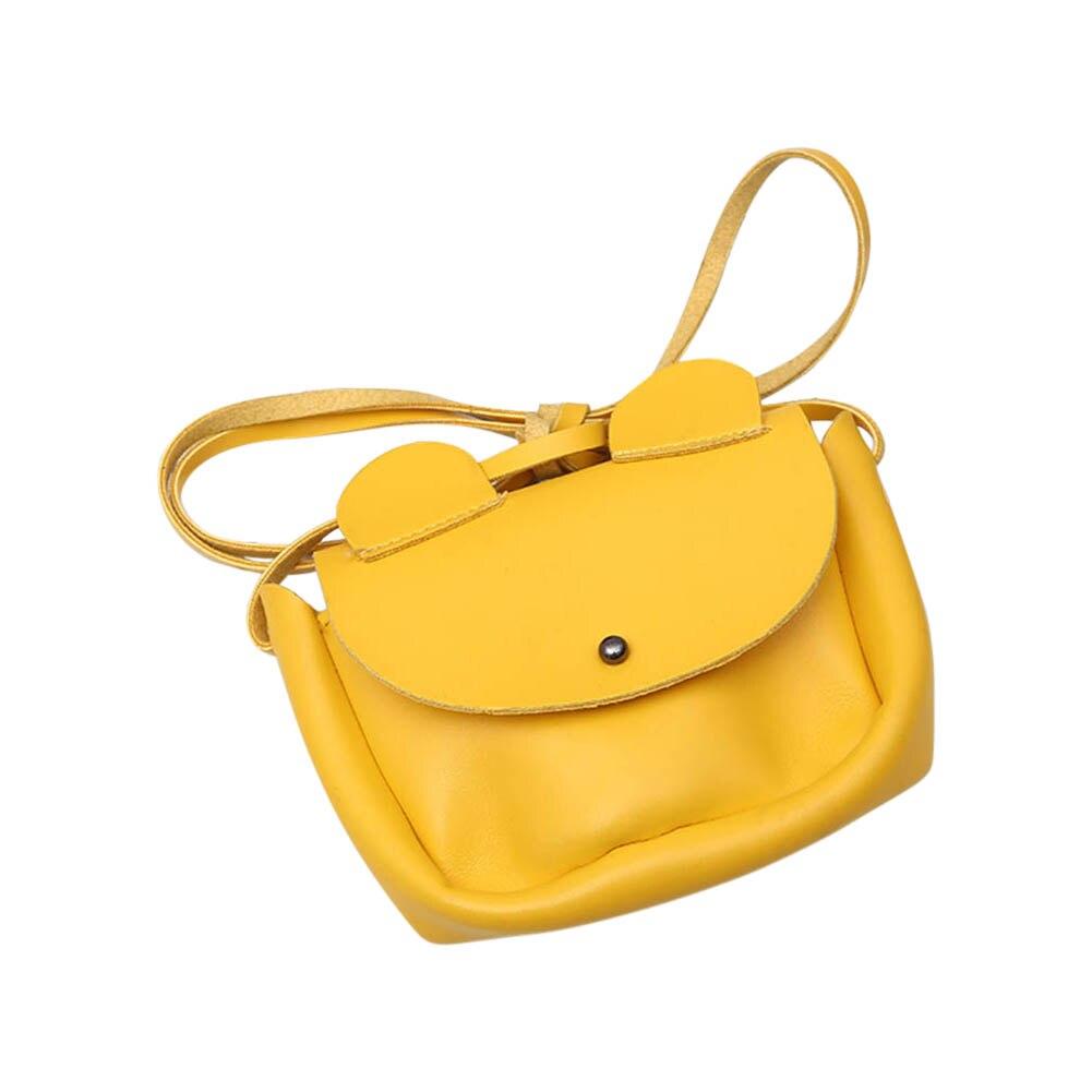 Hot Sale Crossbody Sling PU Leather Cute Cartoon Ears Kids Girls Shoulder Bag Children Small Coin Wallet Handbag Popular