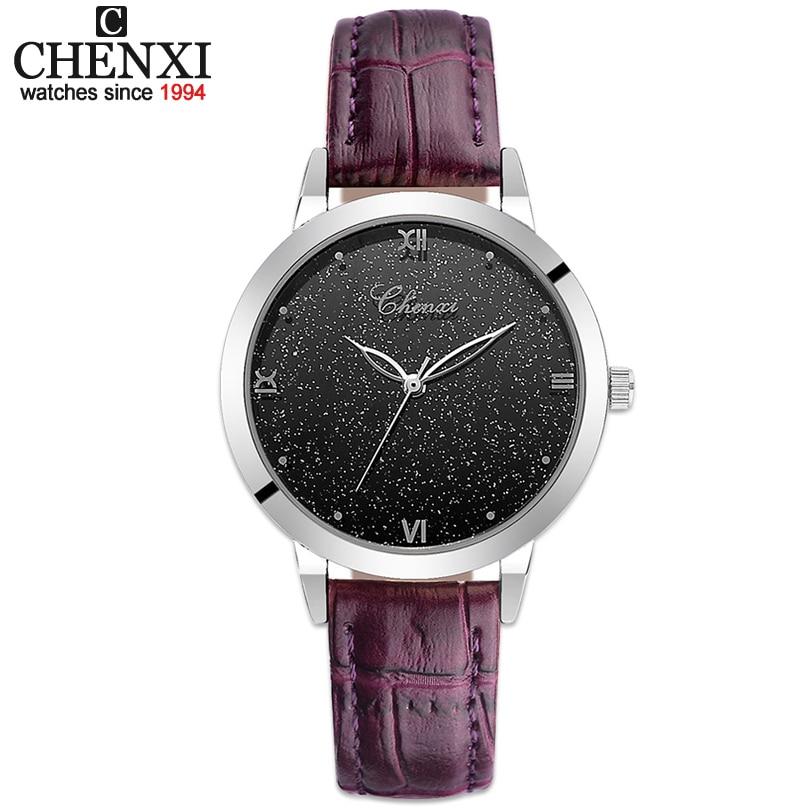 CHENXI Fashion Wrist Watch Women Watches Ladies Luxury Brand Famous Quartz Watch Female Clock Relogio Feminino