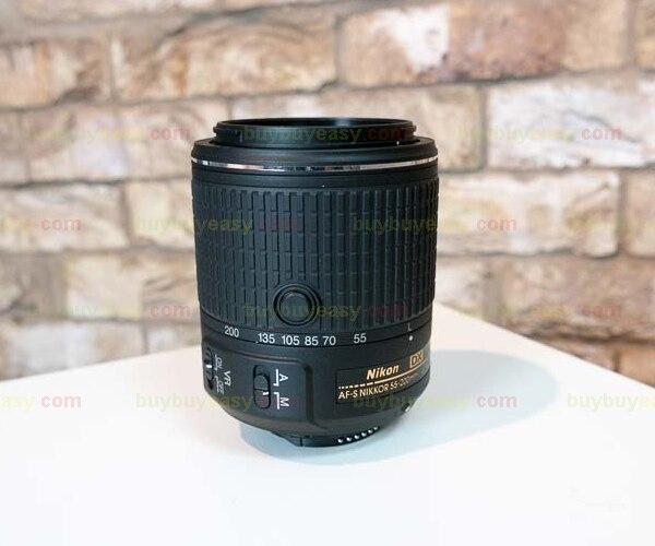 Genuine Brand New Nikon AF-S DX NIKKOR 55-200mm f/4-5.6G ED VR II Lens For D3300 D3400 D5300 D5500 D810 D610 D750 nikon af s nikkor 70 200mm f 2 8g ed vr ii