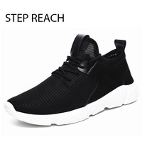 New Men S Casual Shoes Summer Style Masculino Erkek Spor Ayakkabi Lightweight Breathable Mesh Flats For