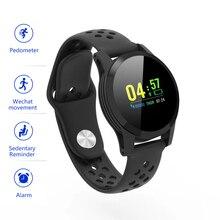 Смарт-часы, пульсометр, кровяное давление для Android, samsung, iPhone, мужчин и женщин