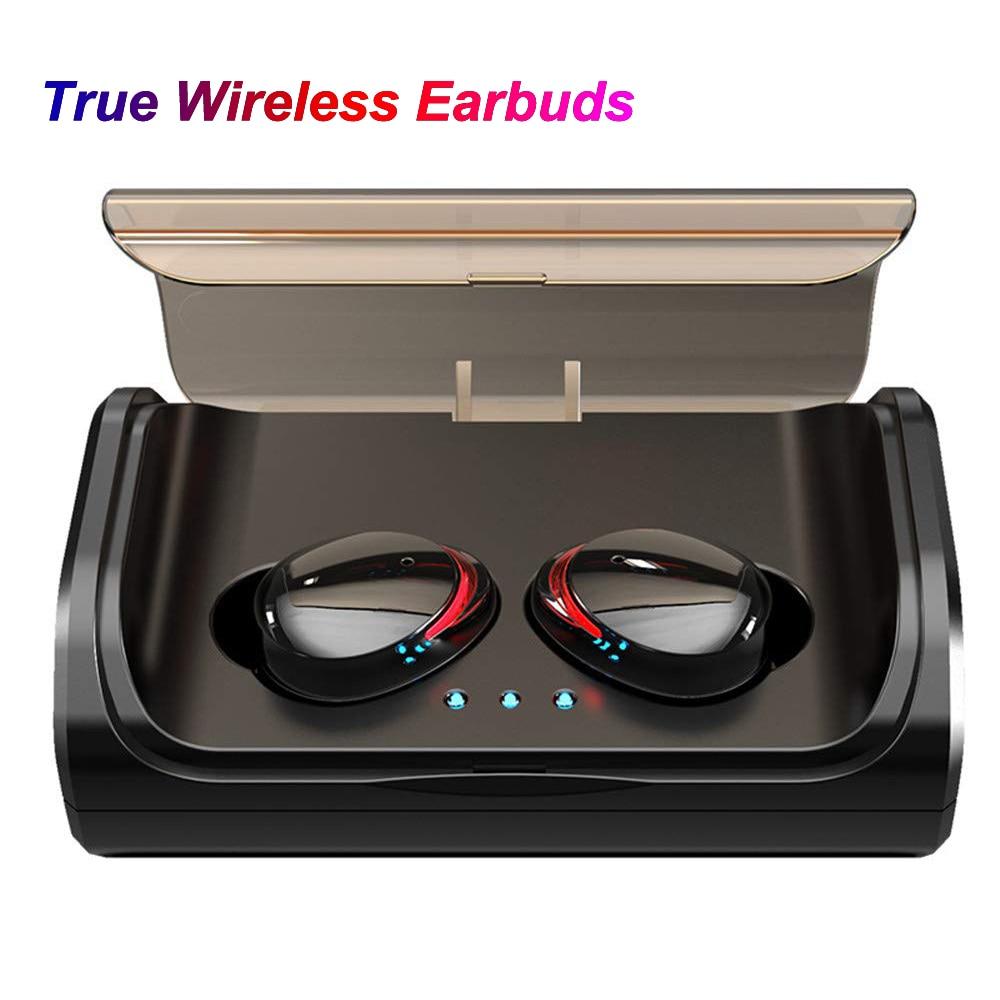 T8 TWS Bluetooth 5.0 casque sans fil écouteur basse stéréo véritable sans fil écouteurs Mini IPX6 étanche écouteurs intra-auriculaires