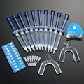 Professional Teeth Whitening Dental Bleaching Set Tooth Whitener+Dental Trays+Dental Light Health Care Home Kit Tools Equipment