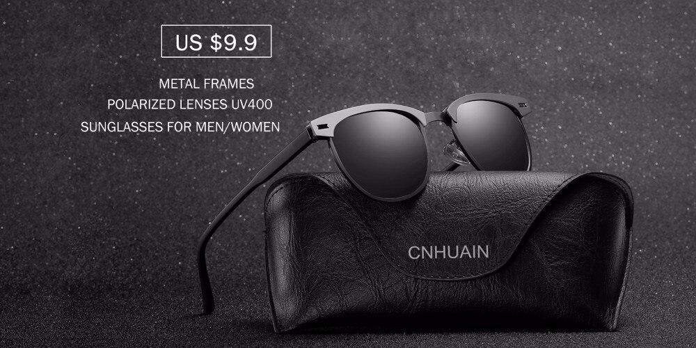 31b50f4f34 Cnhuain grado aluminio magnesio polarizado Gafas de sol hombres marca  diseñador de conducción espejo Sol Gafas para hombres retro hombre  oculosUSD ...